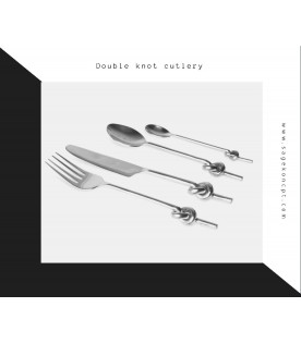 Double Knot Cutlery (24 Pcs)