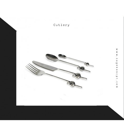Love Knot Cutlery (24 pcs)