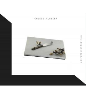 Branch Cheese Platter & Knife