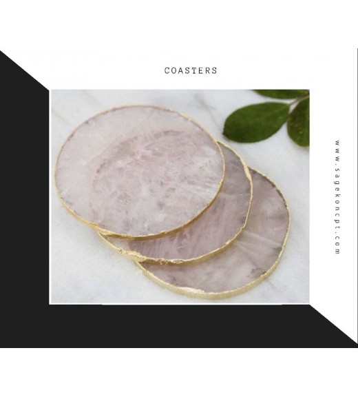Agate Pink Coster