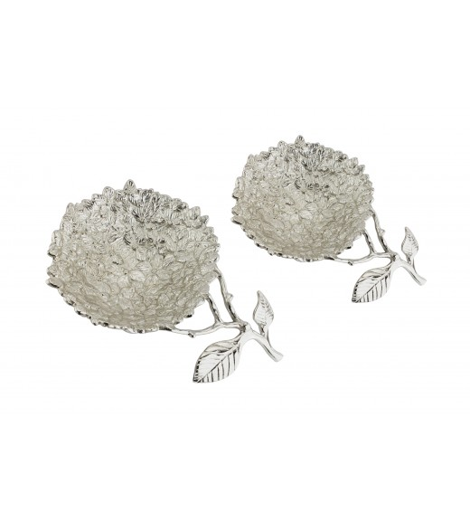 Flower Nut Bowl (Set Of 2)