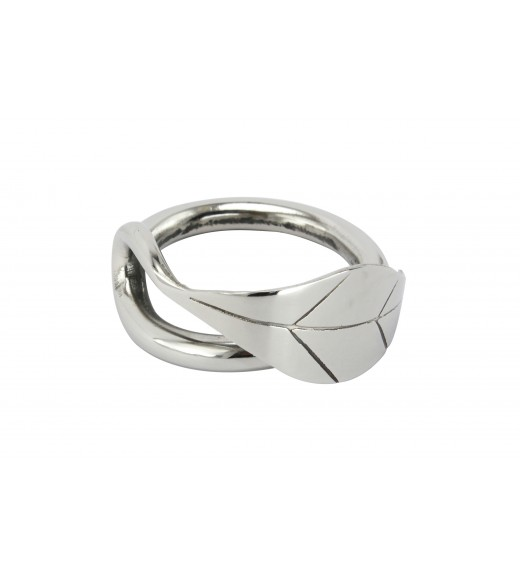 Willow Leaf Napkin Ring (Set Of 6)